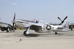 P-51D Mustang Stock Photography
