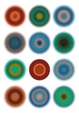 ο κύκλος περιβάλλει σα&p Στοκ εικόνες με δικαίωμα ελεύθερης χρήσης