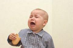 płacz Fotografia Stock