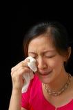 płacz Zdjęcie Royalty Free