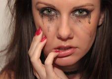 płaczu kobiety potomstwa Obraz Stock