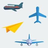 Płascy samoloty Zdjęcia Royalty Free
