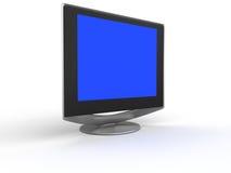 płaski ekran monitora Zdjęcie Stock