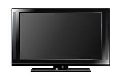 płaski ekran tv Obrazy Royalty Free