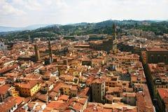 płaski Florence widok Zdjęcia Stock