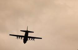 Płaski latanie Fotografia Stock