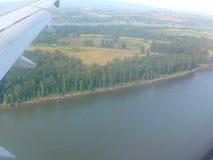 Płaski lot Zdjęcie Royalty Free