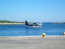 płaski morza Zdjęcia Royalty Free