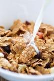 płatka kukurydzany mleko Zdjęcie Stock