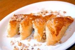płatkowatego ciasta kulebiaki Obraz Royalty Free