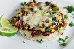 płatowaty enchiladas warzywo Zdjęcia Stock