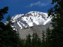 płatowaty góry grani shasta Zdjęcia Royalty Free
