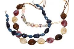 pärlor färgade mång- Royaltyfri Bild