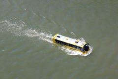 Płazi autobus w Rotterdam, Holandia Fotografia Royalty Free