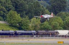 P-51 C野马 免版税库存照片