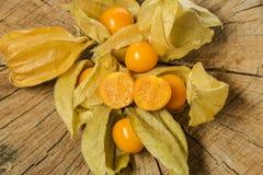 Pęcherzycy pęcherzycy owocowy peruviana Zdjęcia Royalty Free