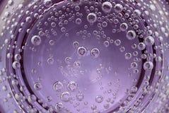 pęcherzyków powietrza wody. obraz stock