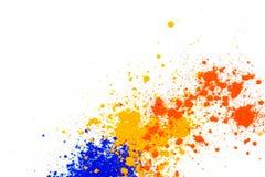 P? colorido natural do pigmento foto de stock royalty free