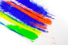 P? colorido natural do pigmento foto de stock