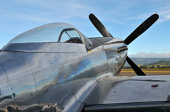 P-51D野马航空器 免版税库存照片