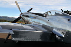 P-51D野马航空器 免版税图库摄影