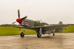 """Μάστανγκ P51D """"ο καρχαρίας """" στοκ φωτογραφίες με δικαίωμα ελεύθερης χρήσης"""