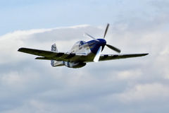 P-51D Mustang Excalibur Lizenzfreie Stockbilder