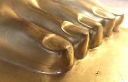 P? de buddha imagem de stock