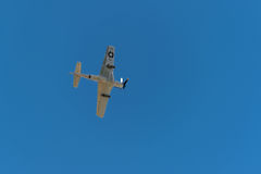 P-51 de mustangsiërra vervolgen II direct Lucht Royalty-vrije Stock Foto's