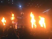 P Diddy выполняя в концерте Стоковое Фото