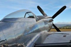 P--51Dmustangflygplan Royaltyfri Foto