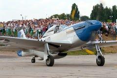 P--51Dmustangkämpe Royaltyfri Fotografi