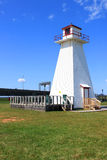 P.E.I. lighthouse at Borden Stock Photos
