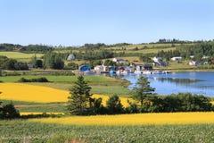 P.E.I. paisagem do verão Imagens de Stock Royalty Free