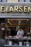 P.E.Larsen butcher shop Stock Photography