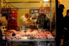 P.e larsen butcher shop Stock Images
