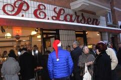 P.e larsen butcher shop Royalty Free Stock Photos