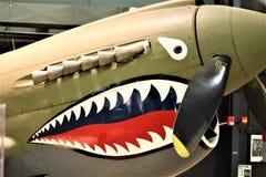 P-40E Warhawk fotografía de archivo libre de regalías