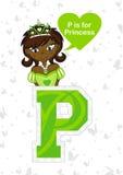 P est pour la princesse Image stock