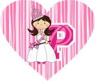 P est pour la princesse Photographie stock libre de droits
