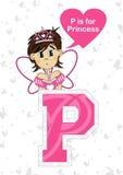 P est pour la princesse Photographie stock