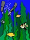 płetwy. ilustracja wektor