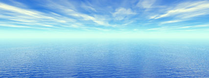 płetwy niebo Zdjęcie Stock