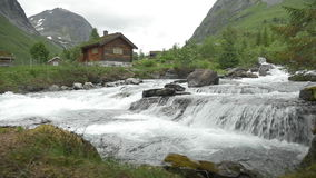 1080p, Flowing River, Norway Royalty Free Stock Photography
