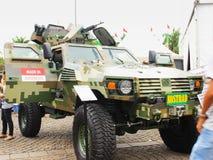 P2 gepantserd tactisch voertuig Royalty-vrije Stock Afbeeldingen