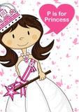 P jest dla Princess ilustracji