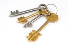 pęk kluczy Zdjęcie Royalty Free