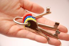 pęk kluczy Fotografia Stock