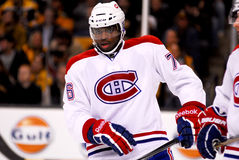 P.K. Subban Montreal Canadiens Royalty Free Stock Photos