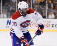 P K Subban Montreal Canadiens Fotografia de Stock Royalty Free